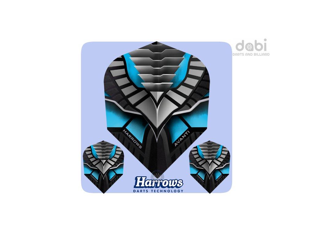 harrows avanti dart flights 7400