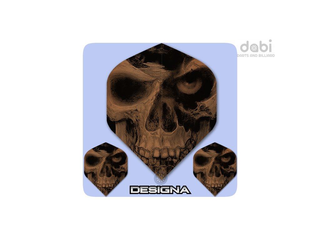 alchemy dart flights copper pole axed skull