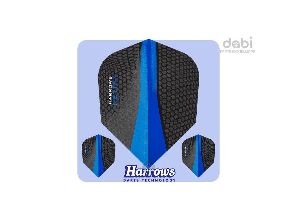 harrows retina dartflights standard darkblue