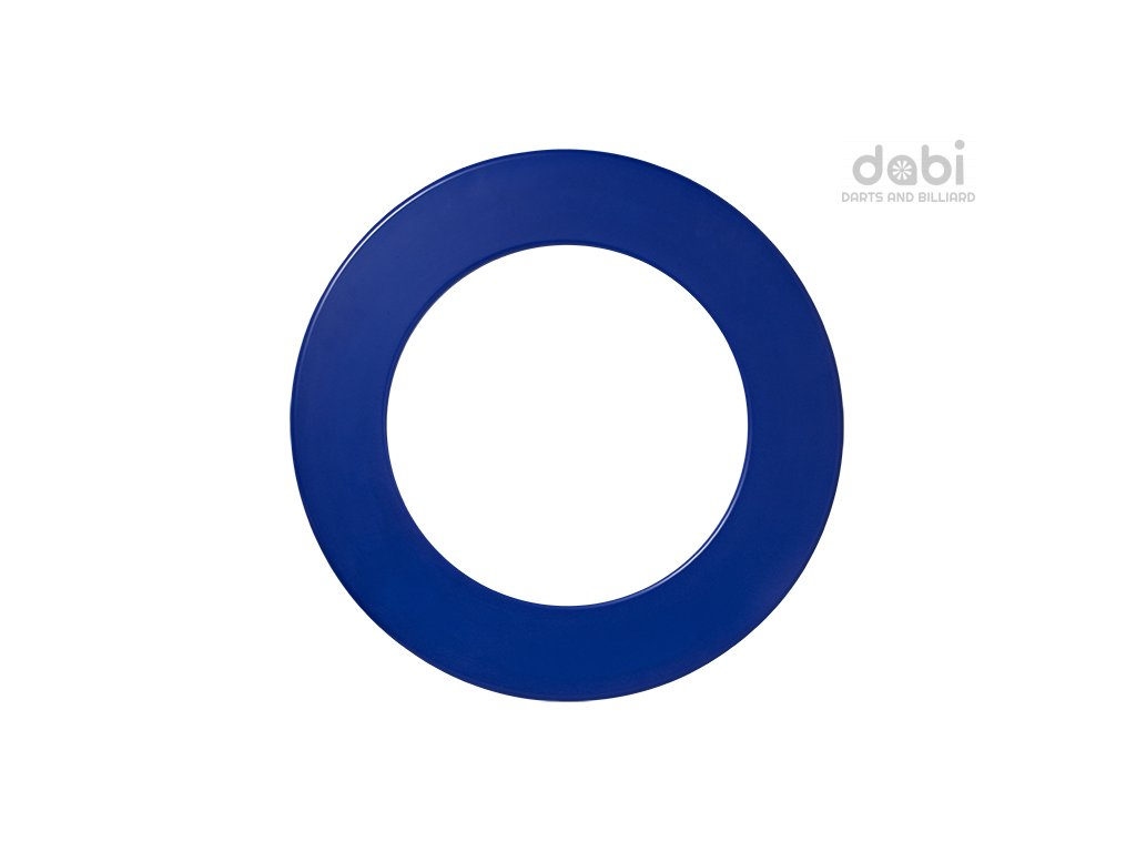 plain blue surround