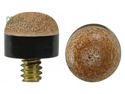 Kůže na tágo šroubovací Renzline 12 mm - kovový závit