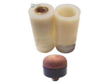 Kostice na šroubovací kůže Kovový závit 12 mm