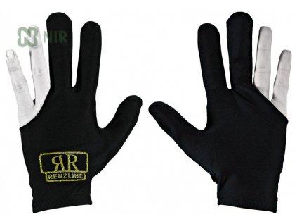 Kulečníková rukavice Renzline Black - levá