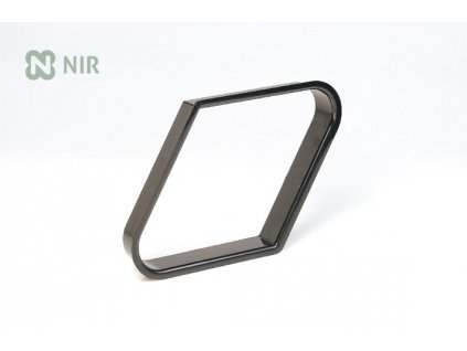 Trojúhelník 57,2 mm na 9 koulí pool plast