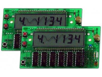 Kulečníkový Timer 16B - display