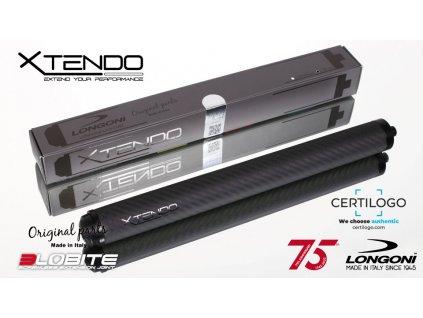 Prodloužení tága Longoni Xtendo Carbon 3lobite 30cm