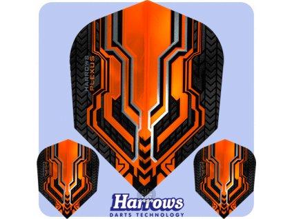 harrows plexus dart flights std orange