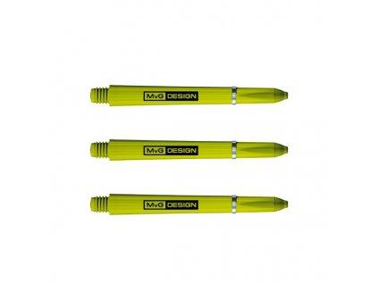Násadky Winmau Nylon Signature MvG Green Medium