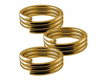 Pružinky Designa Gold 3 ks