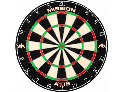 mission axis dartboard tri wire player level endurance board p1156 1555 medium