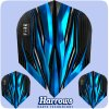 harrows fire inferno dart flights standard blue