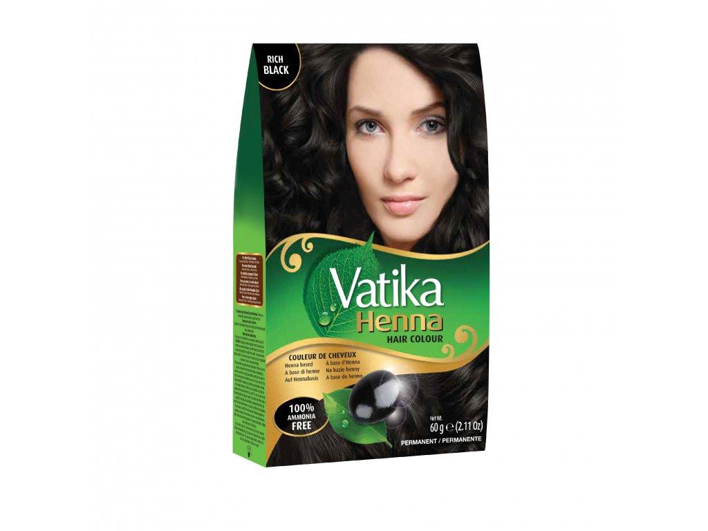 Vatika Henna Rich Black 60g