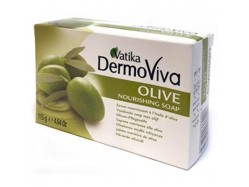 Vatika Naturals Olive Soap 115g