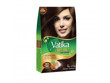 Vatika Henna Dark Brown 60g