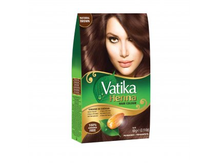 Vatika Henna Natural Brown 60g