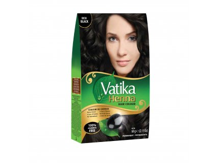 Vatika Henna Rich Black 60g