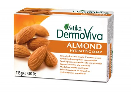 Vatika Naturals Almond Soap 115g