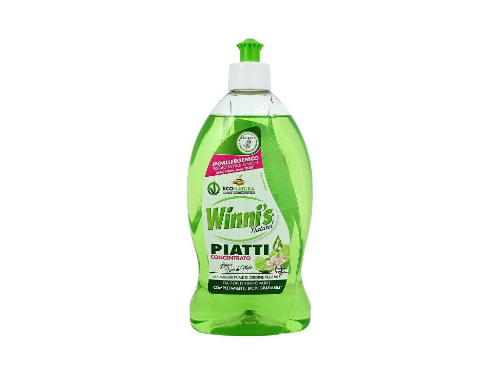 Winni´s Piatti Lime koncentrovaný mycí prostředek na nádobí s vůní limetky 500 ml  (I70)