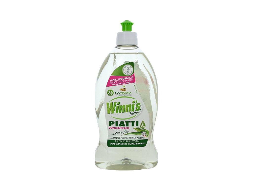 Winni´s Piatii Aloe koncentrovaný mycí prostředek na nádobí s aloe vera 500 ml