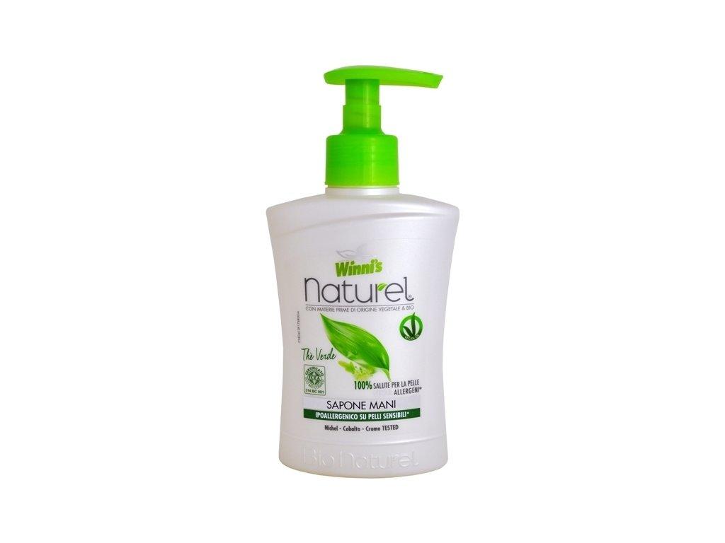 105950 1 winni s naturel sapone mani the verde tekute mydlo se zelenym cajem 250 ml