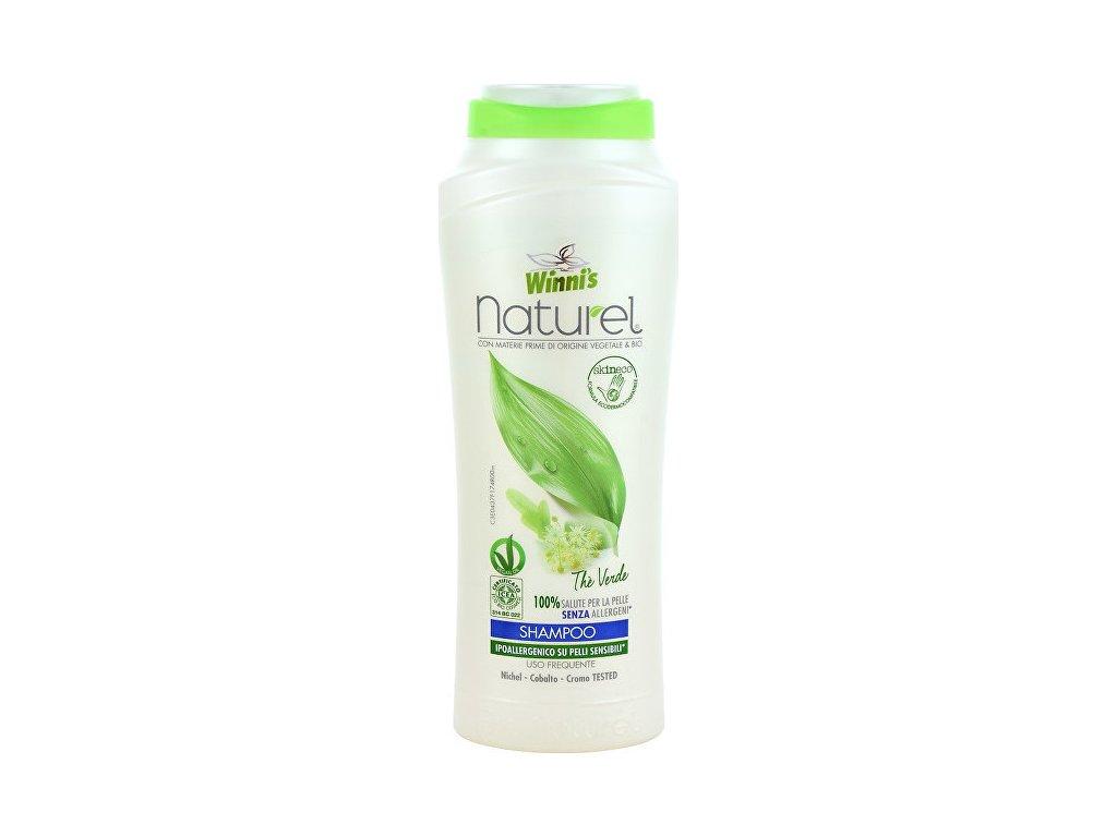 106559 1 winni s naturel shampoo the verde sampon se zelenym cajem pro vsechny druhy vlasu 250 ml