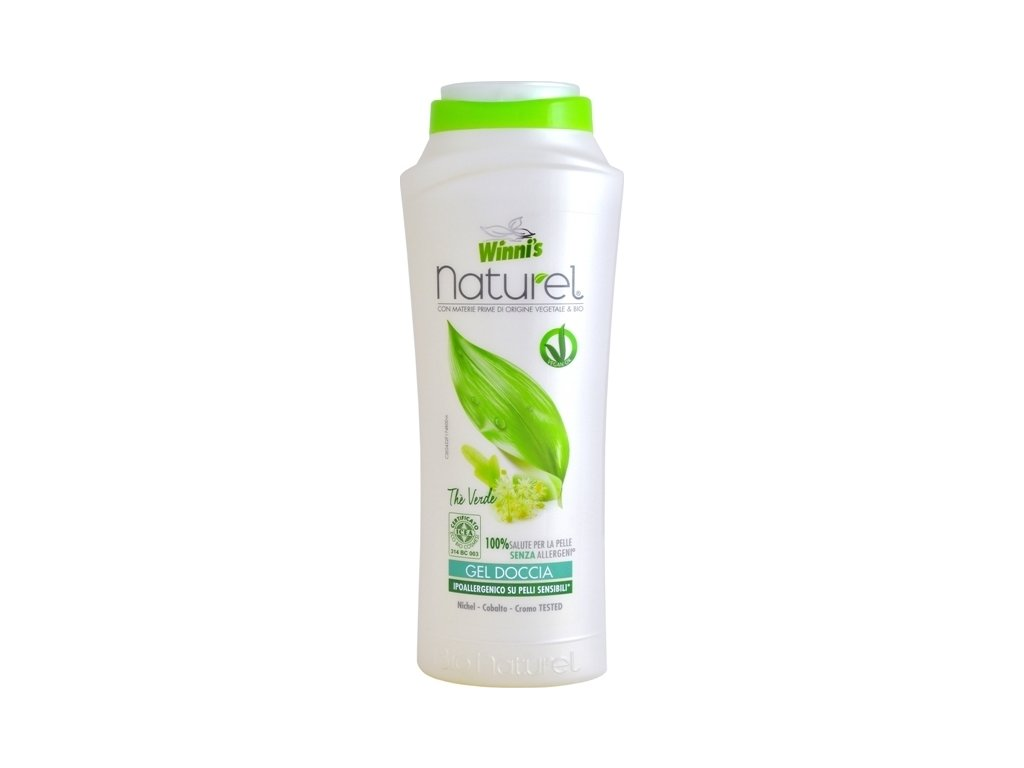 106562 1 winni s naturel gel doccia the verde sprchovy gel se zelenym cajem 250 ml