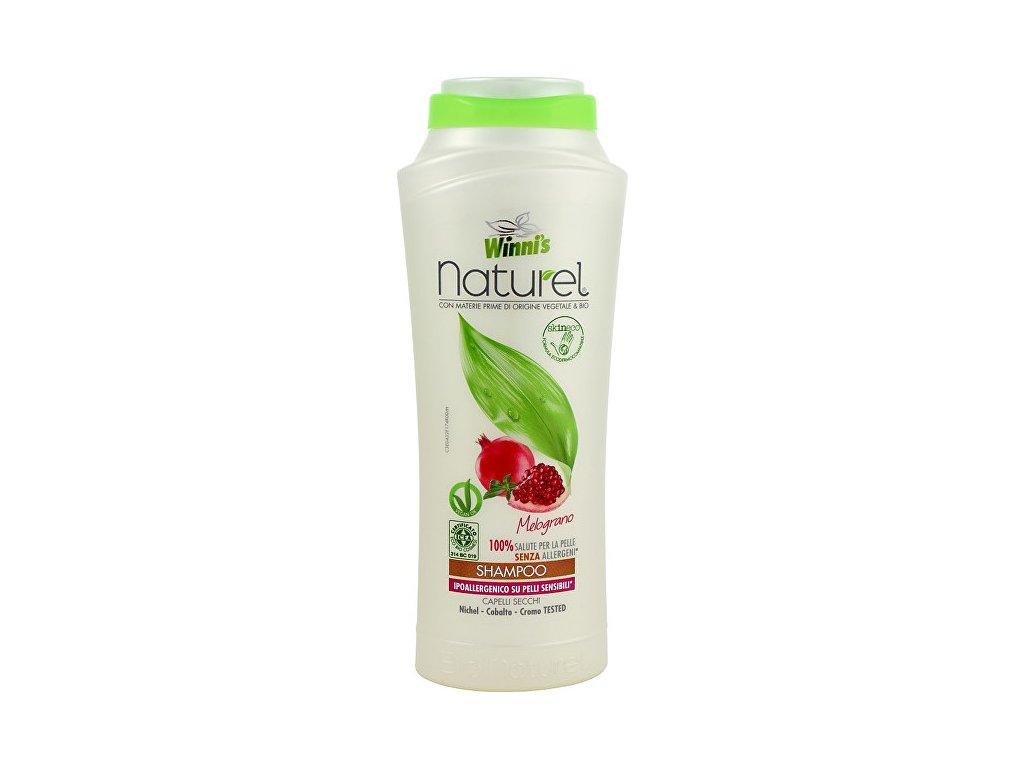 107237 1 winni s naturel shampoo melograno sampon s granatovym jablkem na suche vlasy 250 ml