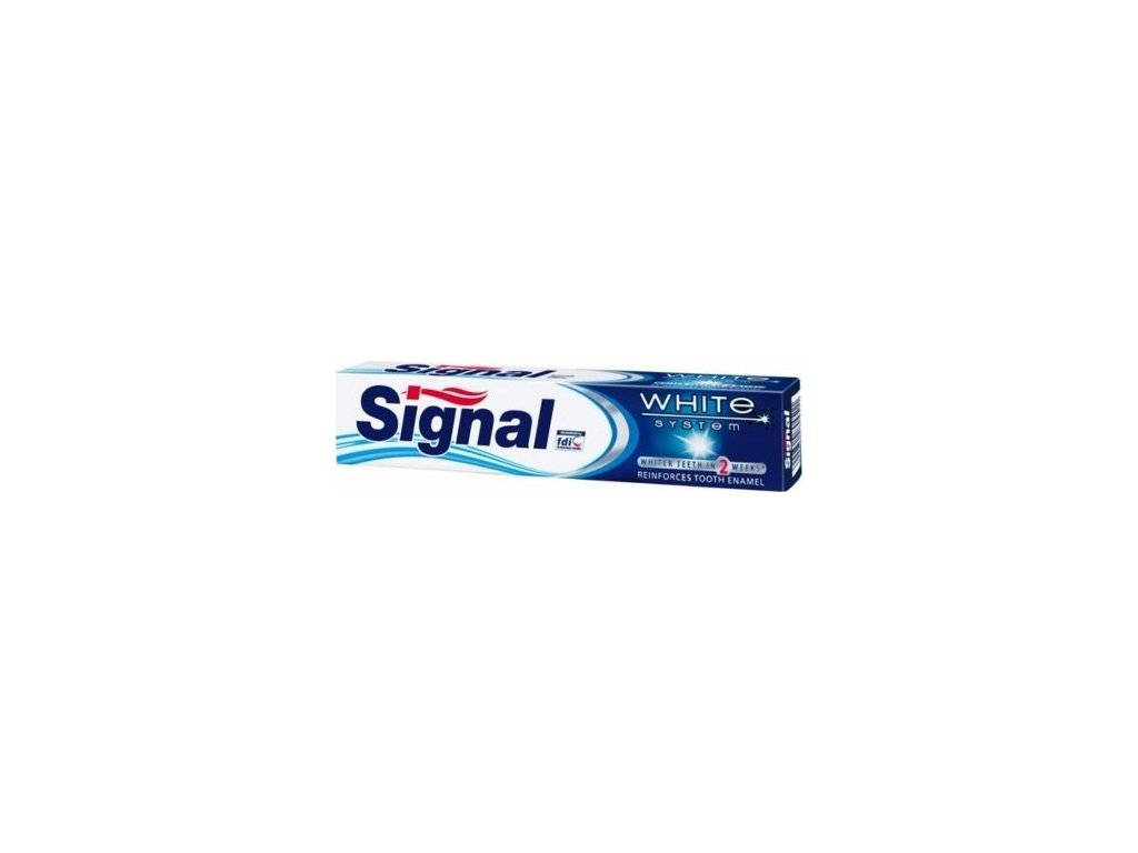 134528 signal zubni pasta s belicim ucinkem white system 75 ml