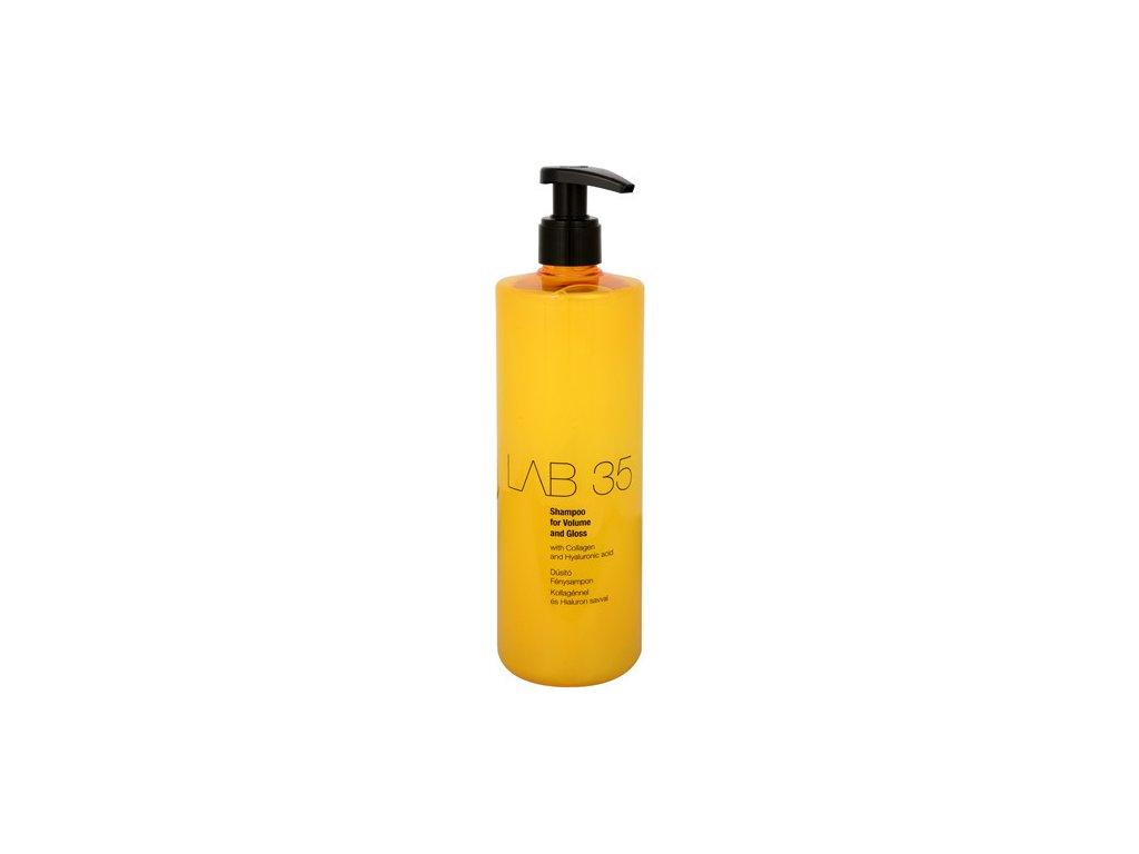 137081 kallos sampon pro jemne vlasy bez lesku lab35 volume and gloss 500 ml