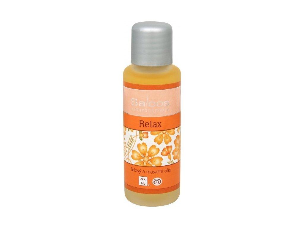 137660 saloos bio telovy a masazni olej relax 50 ml