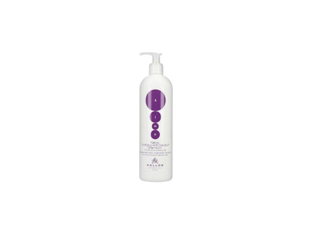195944 1 kallos kjmn posilujici sampon proti lupum fortifying anti dandruff shampoo 1000 ml
