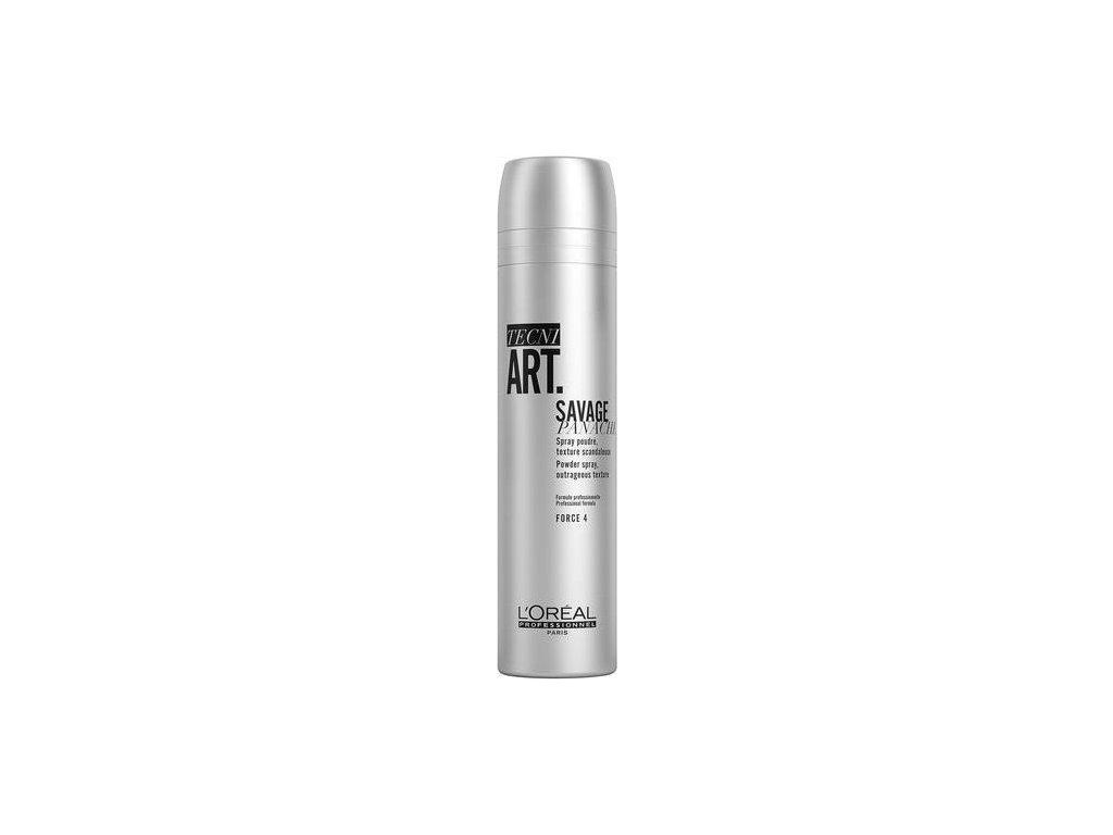 219407 loreal professionnel texturizacni pudrovy sprej pro objem vlasu savage panache powder spray 250 ml