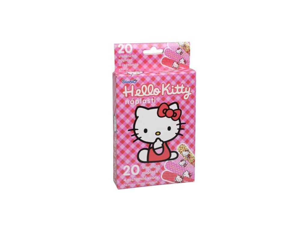 226322 vitalcare detske naplasti hello kitty 20 ks