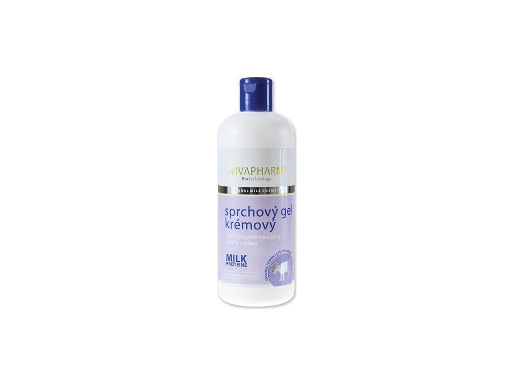 227588 vivapharm sprchovy gel s kozim mlekem 400 ml