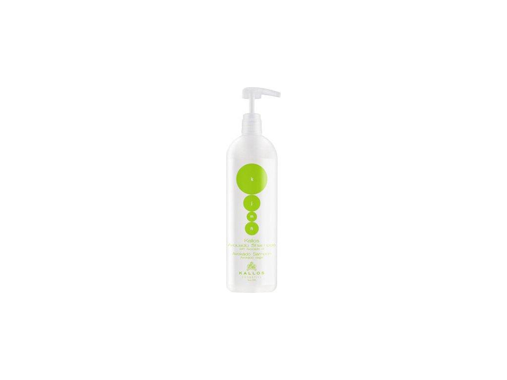 228911 kallos sampon pro suche a poskozene vlasy avocado shampoo 1000 ml
