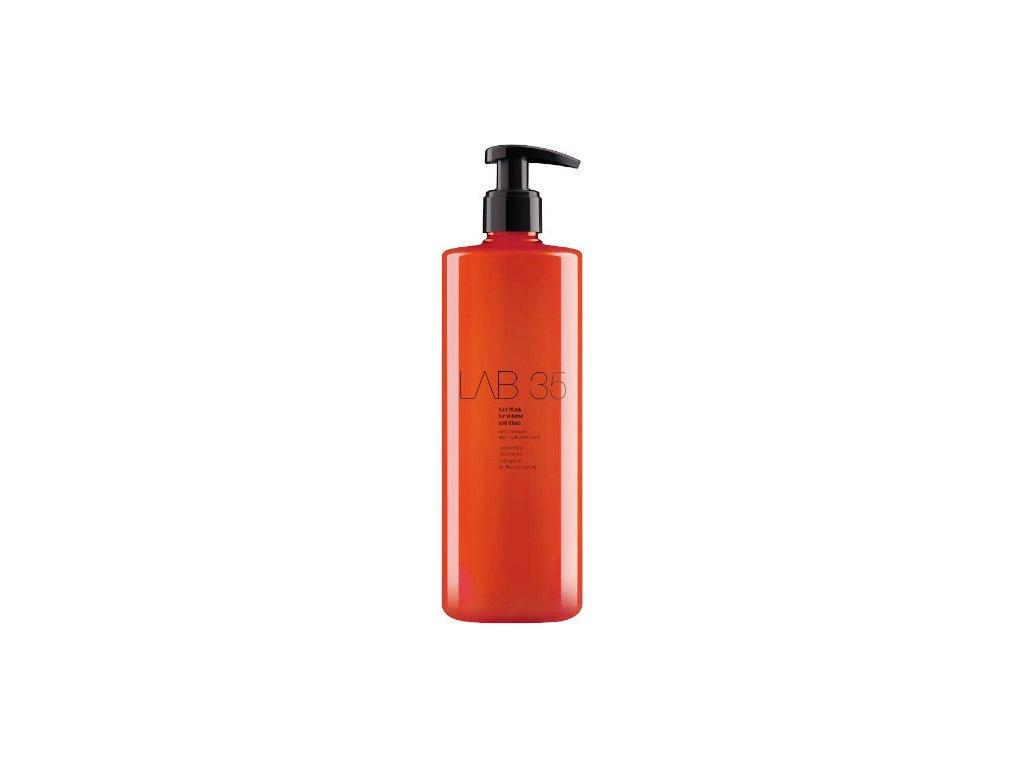 229289 kallos maska pro objem a lesk vlasu lab35 volume and gloss 500 ml