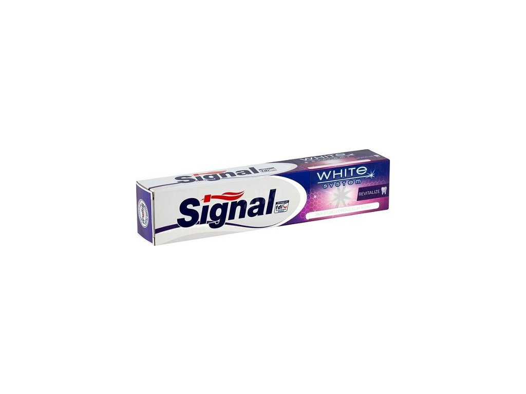 255998 signal zubni pasta white system revitalize 75 ml