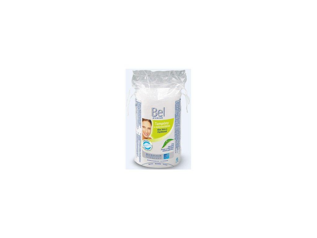 267215 bel premium kosmeticke tampony odlicovaci ovalne 45 ks