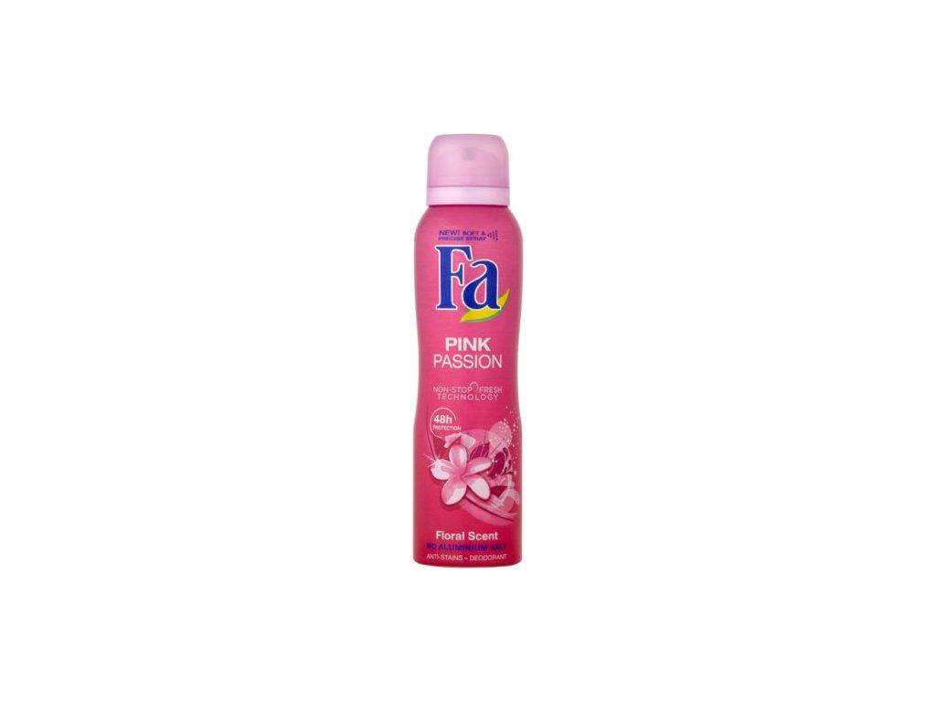 284063 fa deodorant ve spreji pink passion anti stains deodorant 150 ml