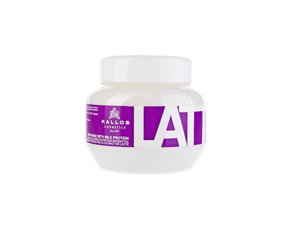 285398 kallos latte regeneracni maska s bilkovinami a aminokyselinami latte 275 ml