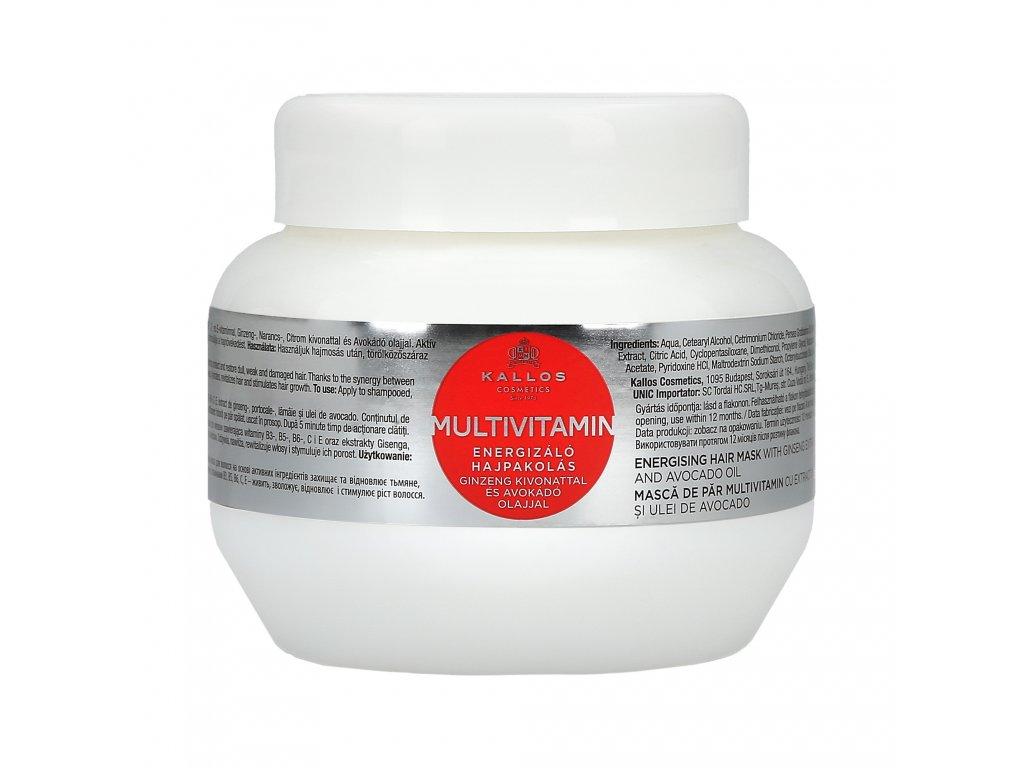 285452 kallos multivitamin ozivujici maska na vlasy s multivitaminy 275 ml