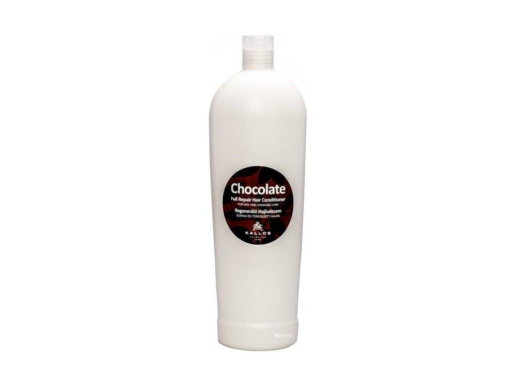 285560 kallos chocolate kondicioner pro obnovu suchych a poskozenych vlasu chocolate full repair hair conditioner 1000 ml