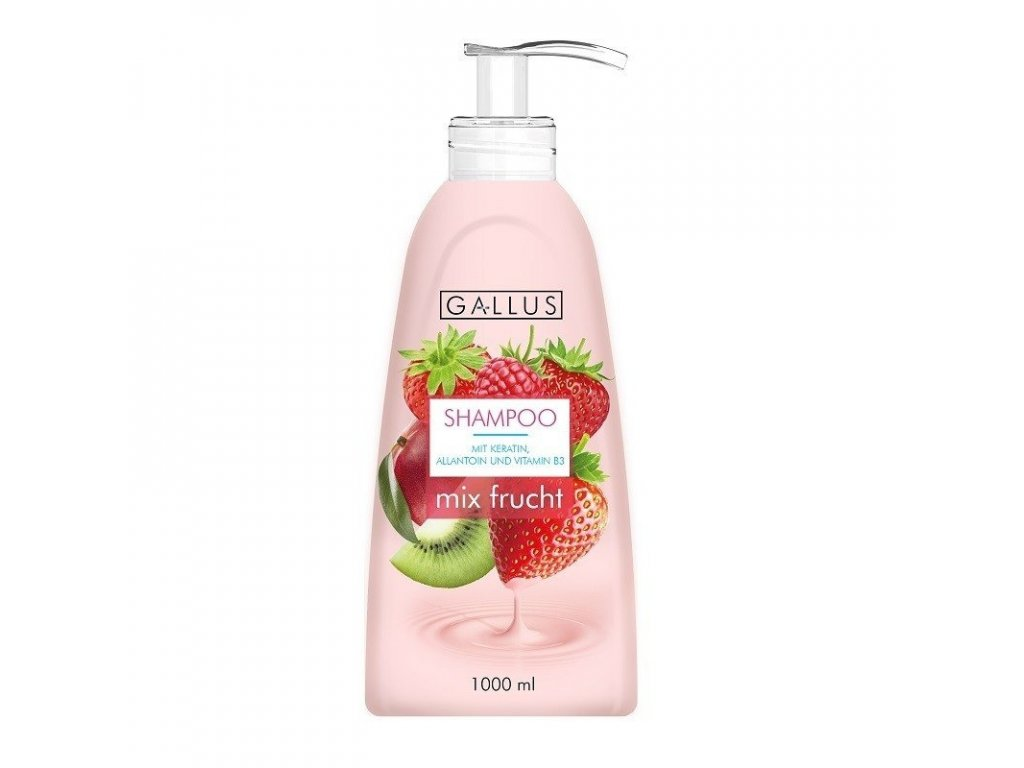 GALLUS, Rodinný šampon, EXOTICKÉ OVOCE, 1000ml