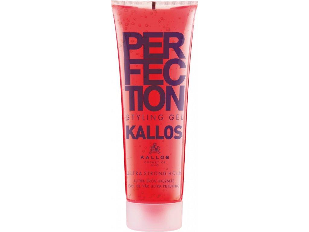 289862 kallos perfection ultra silny gel na vlasy cerveny ultra strong 250 ml