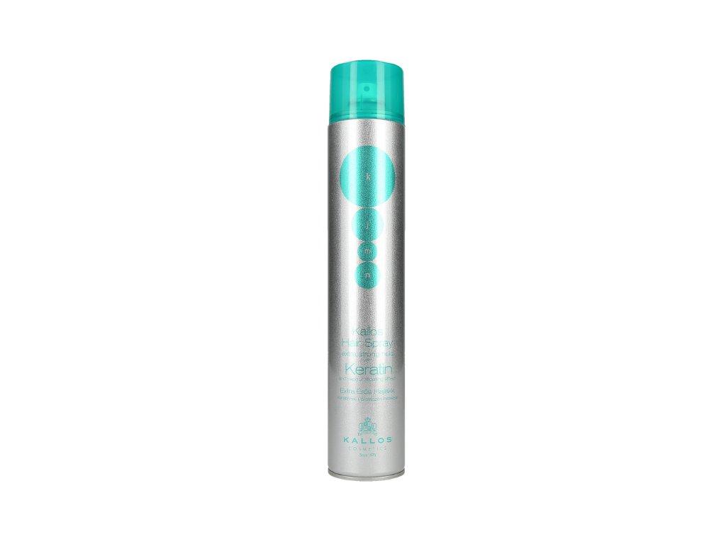 289889 kallos kjmn lak na vlasy keratin extra strong hold hair spray 750 ml