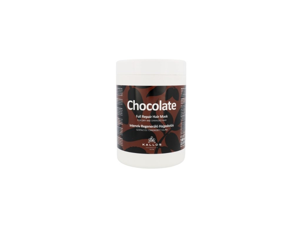 290069 kallos chocolate intenzivne regeneracni maska 1000 ml