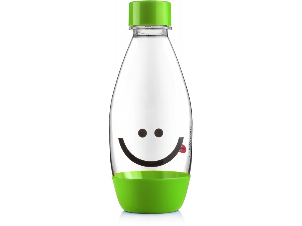 4743 sodastream lahev detska smile green 500ml