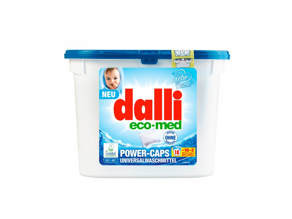 Dal Easy Capsules ECOmed 3D Front 02 ICON 1