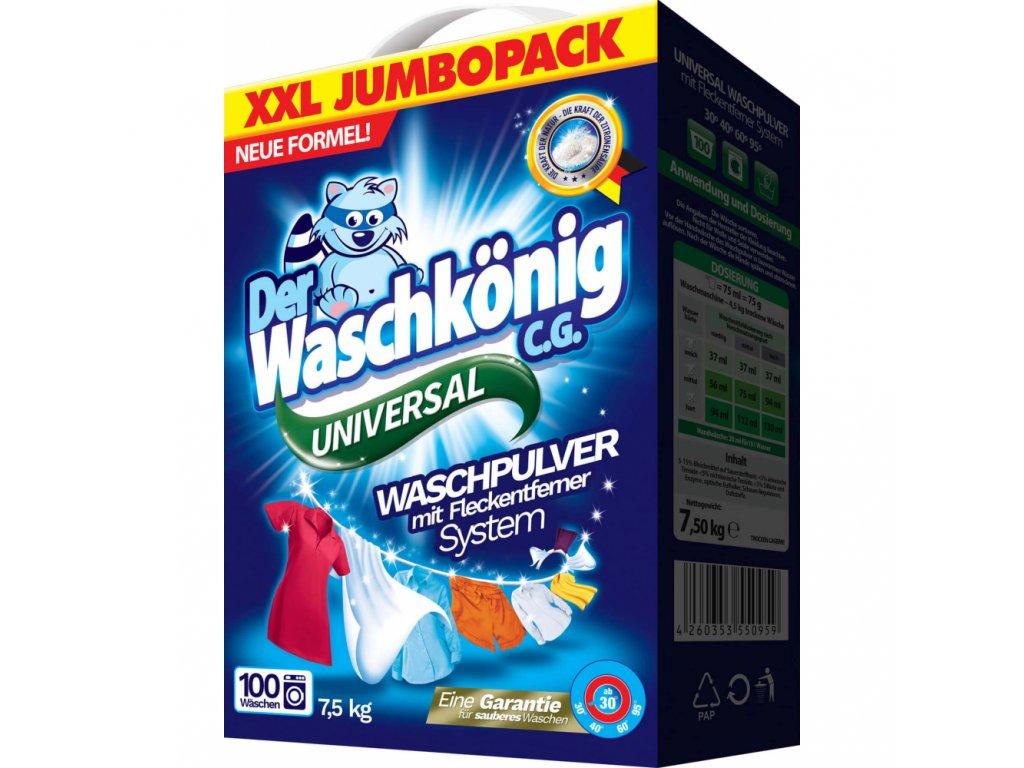 759219 waschkonig universal praci prasek 7 5kg 100davek