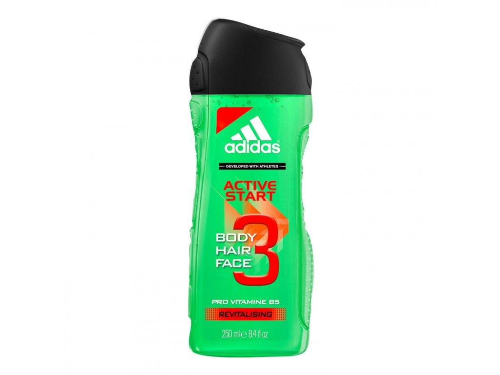 3237 adidas 3 active start men sprchovy gel 250 ml